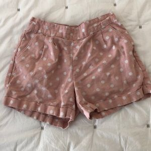 GAP Kids Polka Dot Linen Shorts